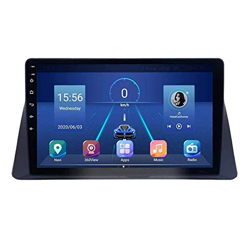 JALAL Unidad Principal estéreo de Radio de Coche Android 8.1 2DIN de 10.1 Pulgadas para Honda Accord 2008-2013, navegación GPS/Bluetooth/FM/RDS/Control del Volante/cámara Trasera