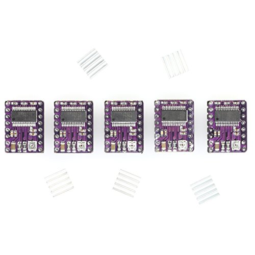 5x DRV8825 Stepper Motor Driver Module with Heat Sink - for CNC Shields, RAMPS 1.4, 3D Printer, Prusa Mendel