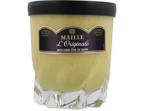 Maille Moutarde Senf fine de Dijon scharf im Trinkglas 280g.