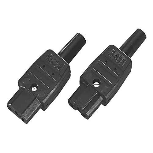 Bachmann 915.170 Outlet Cord IEC320 C13 koelbox nr. 794 70 graden, zwart