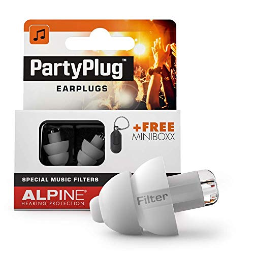Alpine PartyPlug Ear Plugs - Safely enjoy Parties, Music Festivals and...