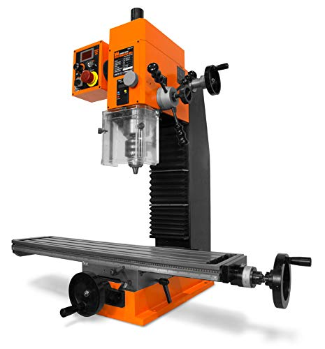 WEN 33075 11-Amp Variable Speed 16-Inch Benchtop Milling Machine with Digital Readout and Extra-Large Mill Table