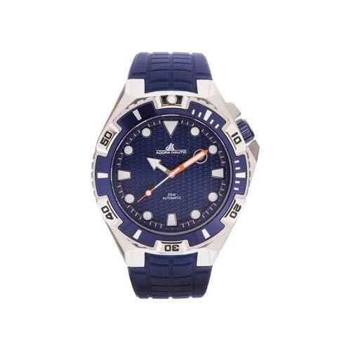 Adora Herren Analog Automatik Uhr mit Gummi Armband AN2048