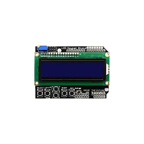 Electronic Module for arduinos 1602 Module Display LCD Keypad Shield LCD1602 LCD ATMEGA328 ATMEGA2560 Raspberry pi Blue Screen Durable Power Converter