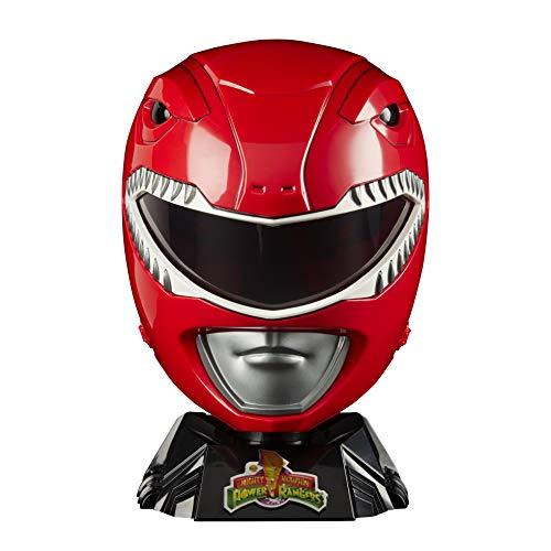 Le casque du Power Ranger rouge