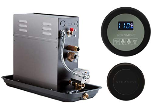Best Prices! 7.5 KW Steam Bath Generator Steamist SMP-7 with 250 Digital Time and Temperature Contro...