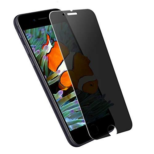 iPhoneSE2 ガラスフィルム 覗き見防止 iPhone SE2 フィルム 強化ガラス se 第2世代 液晶保護フィルム アイフォンse2 ガラスフィルム 180°のぞき見防止 iPhone SE2020 最高硬度9H 貼り付け簡単 高透過率1枚セット