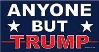 SJT ENTERPRISES, INC. Anyone But Trump 2020 アンチドナルド・トランプ用 4インチ x 8インチ カーマグネット - 防水性と耐紫外線性。 81590