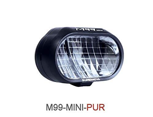 SUPER NOVA M99 Mini PUR 25 Supernova M99 Mini PURE-25 E-Bike Frontleuchte LED Scheinwerfer für E-Bike Bosch Alber Brose 5 Volt - 13,5 Volt 6volt