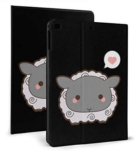 Cute Sheep PU Leather Smart Case Auto Sleep/Wake Feature for IPad Mini 4/5 7.9'& IPad Air 1/2 9.7' Case