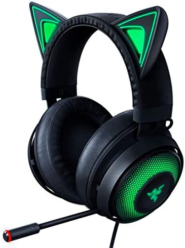 Razer Kraken Kitty RGB USB Gaming Headset THX 7 1 Spatial Surround Sound Chroma RGB Lighting product image