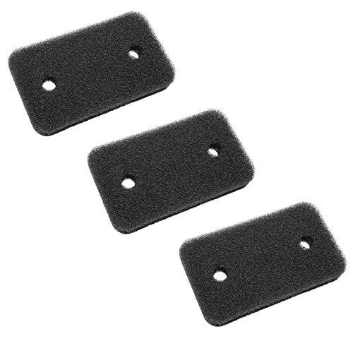 vhbw 3x Filtro (microfiltro) compatibile con Miele T 8626 WP EcoComfort, T 8627 WP EcoComfort asciugatrice - Set di filtri - Filtro di ricambio