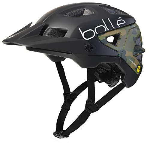 bollé 32006 Trackdown MIPS - Casco de ciclismo (52-55 cm), color negro