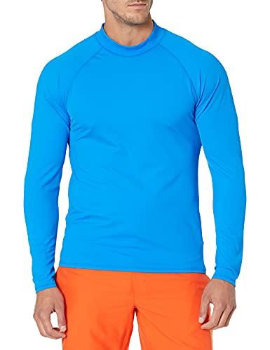 Amazon Essentials UPF 50+ Men's Rashguard, Blue, XX-Large