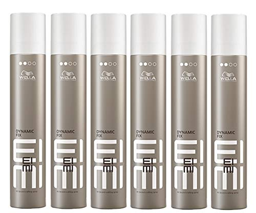 6er Dynamic Fix 45 Seconds Styler Wella Profesionals EIMI Styler Modellier Haar Spray 500 ml
