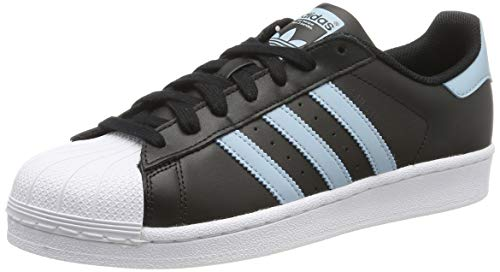 adidas Superstar, Zapatillas de Gimnasio Hombre, Negro Core Black Ash Grey S18 FTWR White Core Black Ash Grey S18 FTWR White, 36.5 EU