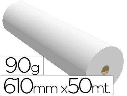 Sprintjet 7610509B - Papel reprografía para plotter, 610 mm x 50 m ...