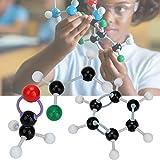 Juego de estructuras molecular de Zerone, 267 piezas, Molecular Organic Anorganic Structure Kit Atom Link para estudiantes de profesores