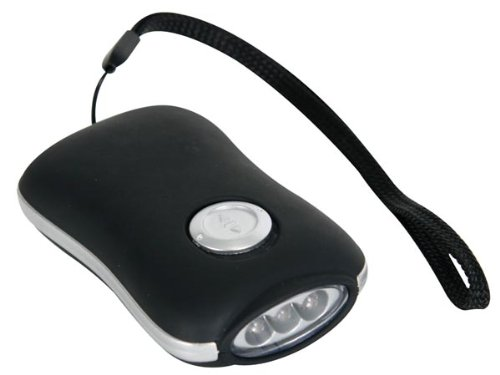 Velleman Lampe-torche dynamo compacte - 3 led