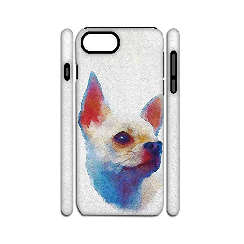 Loveliness Print Chihuahua 6 Compatible Apple iPhone 7 P/ 8 P Plastics Cases Womon Choose Design 136-5