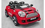 Auto Elettrica Coupe Rally Colore Rosso 12V con Radiocomando (Giocattolo)