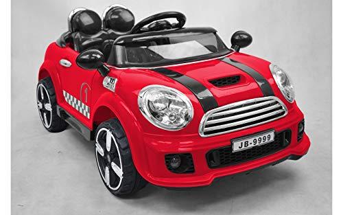 Auto Elettrica Coupe Rally Colore Rosso 12V con...