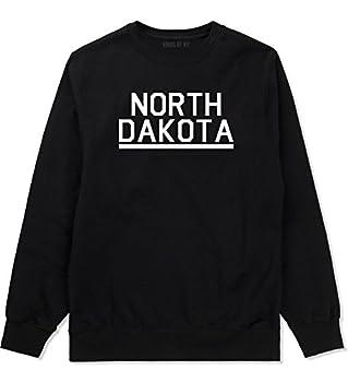 Kings Of NY North Dakota USA State Crewneck Sweatshirt XXX-Large Black