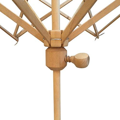 "Premium Knitter Yarn Swift 24"" (One Size Fits All) Umbrella Wooden Yarn Ball Winder"