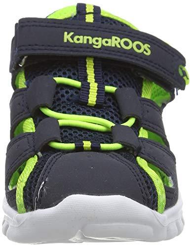 KangaROOS Rock Lite, Baby Lauflernschuhe, Blau - 2
