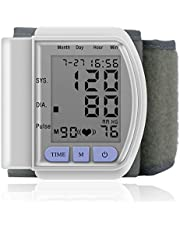 プロデジタル手首血圧モニターメーター眼圧計血圧計カフ自動ヘルスケアモニター 調節可能な 100%トップグッド