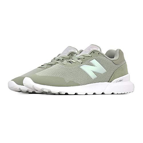 New Balance Ws515 B - txe Silver Mint - Freizeit-Schuhe-Damen, Größe:9