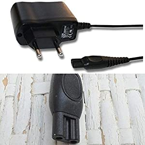 CARGADOR ESP Cargador Corriente 15V Compatible con reemplazo para Afeitadora Philips PT860/41 PT870/14 PT870/15 PT870/16 PT870/17 Recambio Replacement