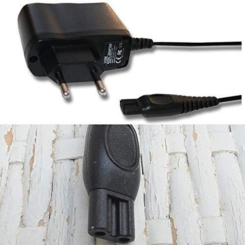 CARGADOR ESP Cargador Corriente 15V Compatible con reemplazo para Afeitadora Philips HQ8000 y HQ8290/22 Recambio Replacement