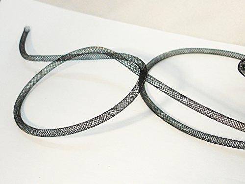 Netzschlauch Schmuckschlauch 50 cm schwarz 4mm SH6