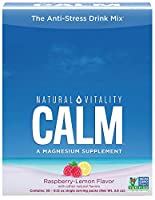 Peter Gillhams Natural Vitality Gillham's Vitality, Calm, The Anti-Stress Drink, Raspberry-Lemon Flavor, 30 Single Serving Packets, 3.3 g Per Packet (並行輸入品)