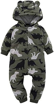 HAODA Baby Winter Clothes Cheap Newborn Girl boy Regular dealer Sle Rompers Long