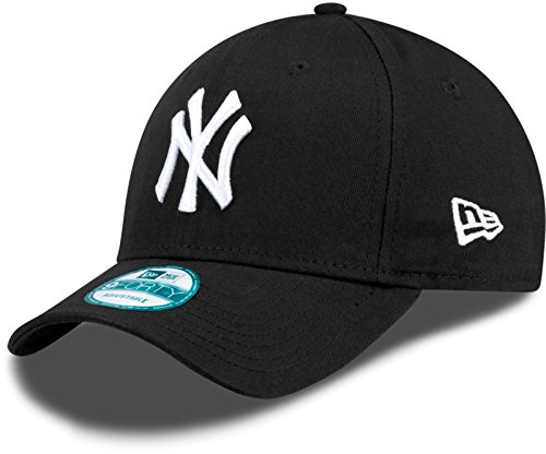 New Era New York Yankees 9forty Adjustables Cap Black / White - One-Size