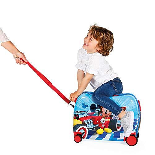 Disney Lets Roll Mickey Kindergepäck 50 centimeters 39 Mehrfarbig (Multicolor) - 6