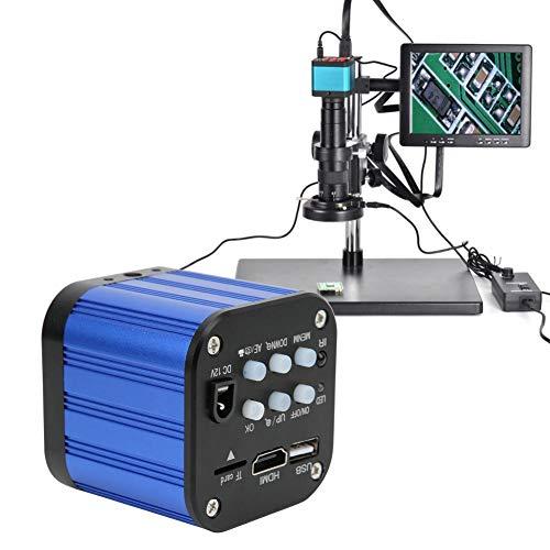 Cámara de microscopio 4k, HDMI USB Cámara de microscopio Industrial eléctrica Digital...