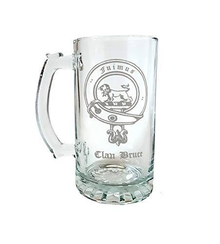 Clan Bruce Scottish Crest 27oz Stein