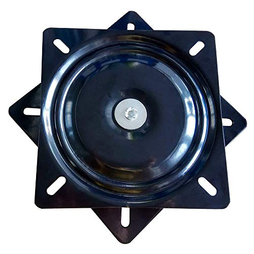 Seat Swivel Base Mount Plate for Bar Stool, Chair, 500-Lb Load Capacity (15.7INCH)