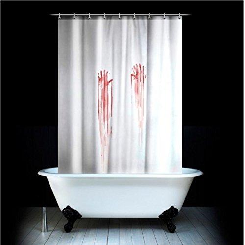 Blutbad Duschvorhang - Wannenvorhang Badewannenvorhang Blut