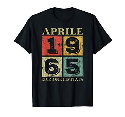 56 Anni Compleanno - Le Leggende Sono Nate nel Aprile 1965 Maglietta