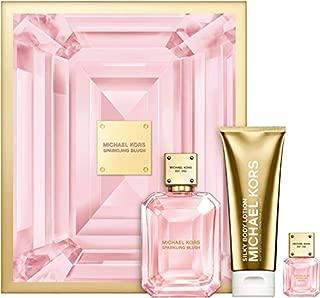 Michael Kors Sparkling Blush Boxed Set with Eau de Parfum and Body Lotion