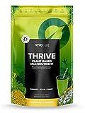 Vivo Erfolgreiches Leben Veganes Supernahrung Mehrnährstoff-Pulver, Ananas und Baobab-Fruchtfleisch, 240gr