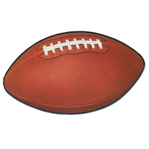 Beistle 24-Pack Football Cutouts for Parties, 11 by 18-Inch