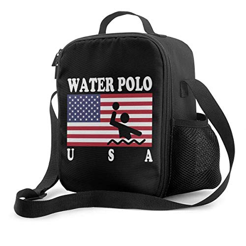 Insulated Lunch Bag Tote Bag Cool Bag Large Capacity Picnic Bag American Flag Water Water-Resistant Leakproof Soft Thermal Bento Box for Camping,Fishing,Barbecues
