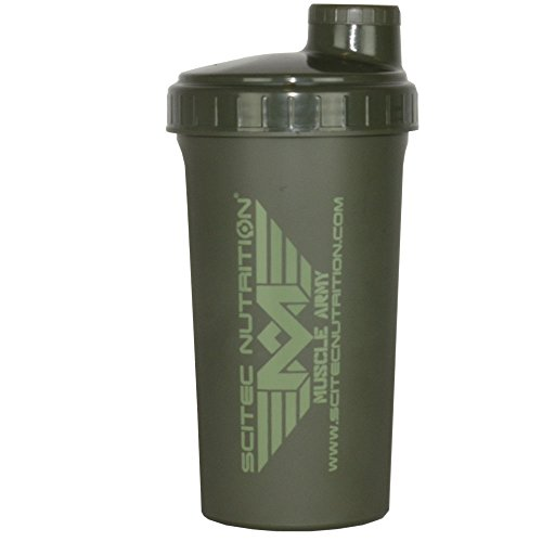 Scitec Nutrition - Muscle Army - Shaker, grün 700ml