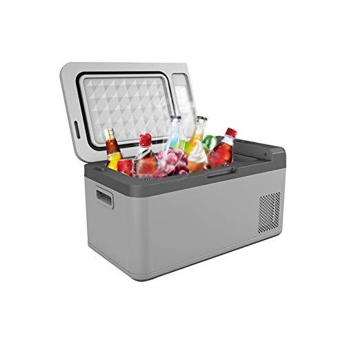 WEUROPESV 24L Auto Kleinkühlschrank 24V LKW Kühlkompressor Mini Kühlwagen Home Dual-Use-Kühl- und Einfrieren (präzise Temperaturregelung)