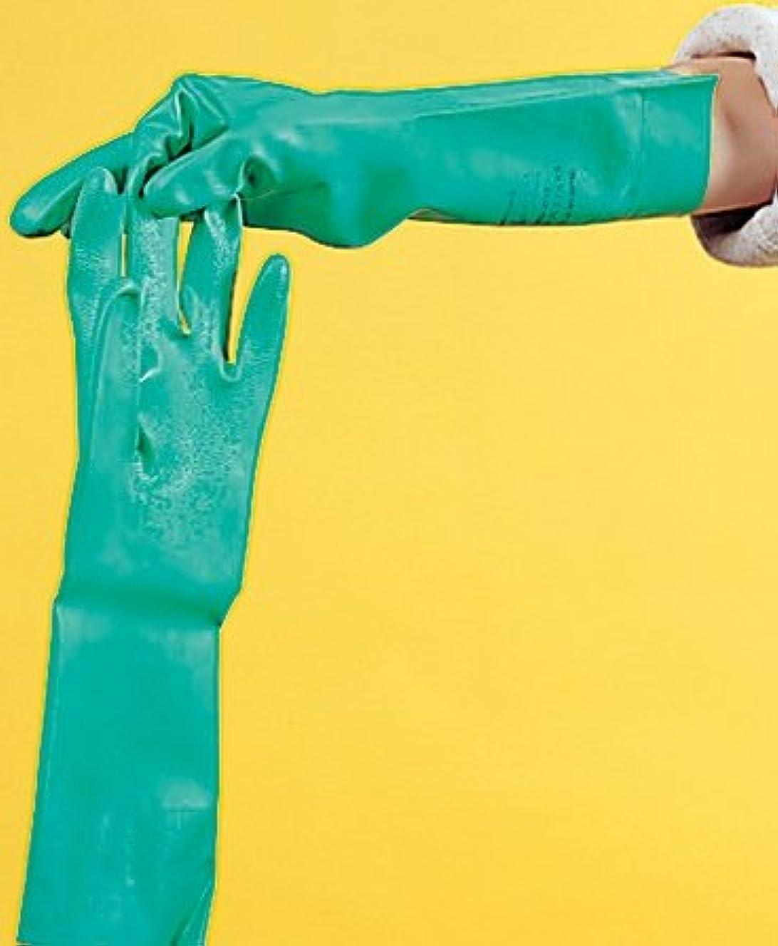 人口ミスペンド米国ゴム手袋 ニトリル M 1組